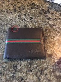 Beautiful men wallet with small white spot  502 km