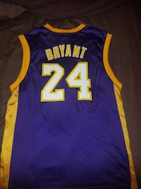 Los Angeles Lakers Kobe Bryant Jersey (Men's Large) Monument