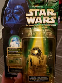 R2D2 3.75inch figure with Leia hologram New