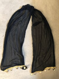 Black cloth with gold rings  San Mateo, 94403