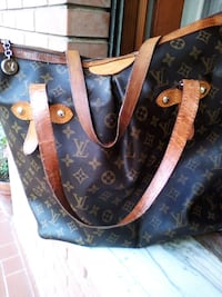 borsa in pelle marrone Louis Vuitton Roma, 00172