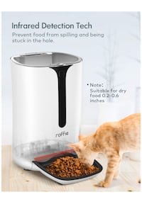 Brand new automatic pet feeder