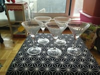 Set of 5 coctail glasses 548 km