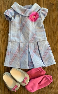 American Girl outfit with shoes 29 km