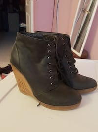 Urban outfitters leather booties 8 Falls Church, 22043