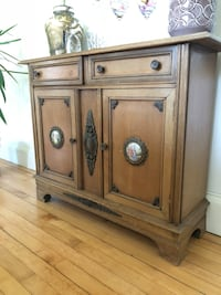 Antique side board/cabinet.  One missing drawer pull, but it's sturdy.  Come get it! Portsmouth, 03801