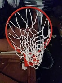 Used Red And White Basketball Hoop For Sale In