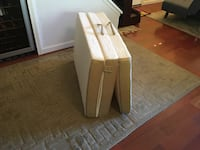 Brand new Nomad. Trifold foam mattress. Free curbside delivery included  Richmond, 94803