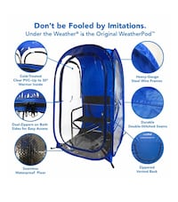 New under the weather InstaPod pop tent Hendersonville, 37075