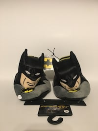 Batman Sock Top Slippers (BRAND NEW) Pine River, 56474