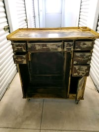 Antique watchmaker cabinet  Midwest City, 73110
