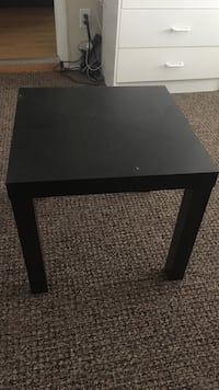 square black wooden coffee table Vancouver