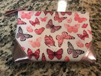 Butterfly cosmetic bag, Ipsy