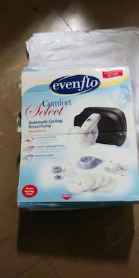 brand new Evenflo breast pump never been used