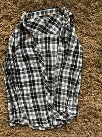 Charlotte Russe black & white flannel size S Henderson, 89052