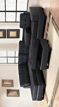 ## New Sectional with ottoman ( living room set ) furniture Houston, 77074