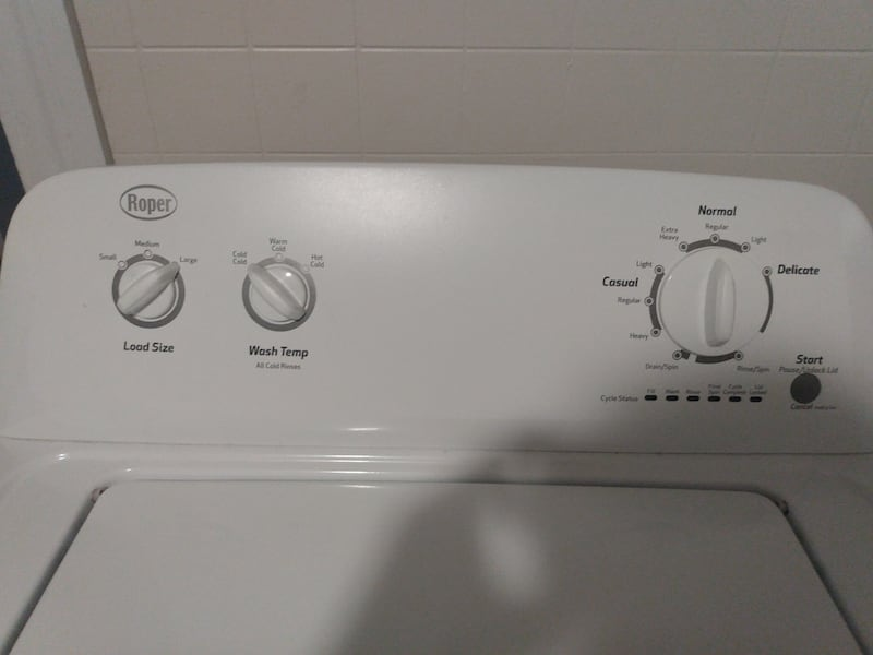 For Both Washer and Dryer Clean Perfect nothing wrong work perfectly 4baed587-0fbc-4842-8ef4-95231d77ff79