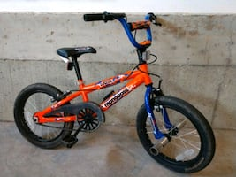 "Mongoose 16"" BMX bicycle"