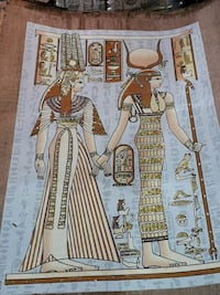 A4 EGYPTIAN PAPYRUS PICTURE 2 London