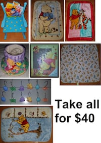 Disney Winnie the Pooh Themed Lot (Take all for $40) Mississauga