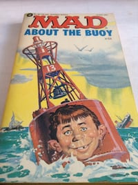 Rare Collectible early MAD magazine: MAD About The Buoy (book)