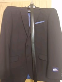 Billy London Black Suit With Belt