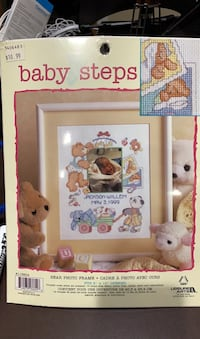 Baby Steps Cross Stitch