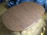Dinning Table (Dark brown wood) Toronto, M2J 1K2