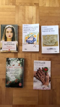 5 interesting French books Laval, H7G