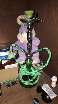 green and grey hookah White Plains, 20695