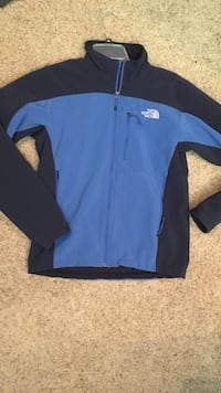 Blue and black zip-up jacket Robinson, 76706