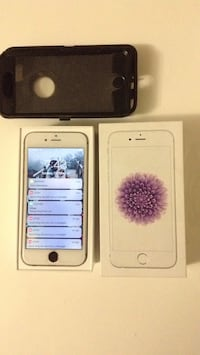 Silver iphone 6s with box St Catharines, L2T 3Y7