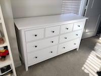 SOLD - IKEA HEMNES 8-Drawer Dresser