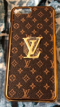 Brown LV monogram iphone 8 plus case! Burke, 22015