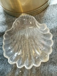 clear cut glass footed bowl Baldwinsville, 13027
