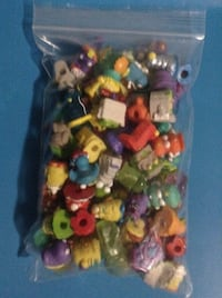assorted color plastic toy lot Waterloo, N2L 4T1