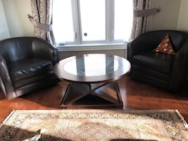 Table and sofa chairs. EUC. Fast pickup ..