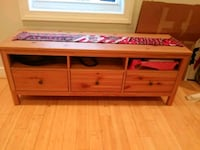 red wooden 3-drawer chest Washington, 20002