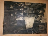 Pencil and charcoal drawings very nice Dallas, 75236