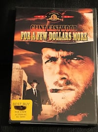 Clint Eastwood For a Few Dollars More (still factory sealed).