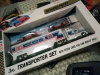 Richard petty stock car collecton 3 pc transporter Hagerstown