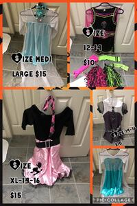 Girls Halloween outfits  Mulmur, L9V 3H6