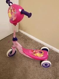 Princess scooter for toddlers