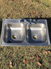 stainless steel double sink Schriever, 70395