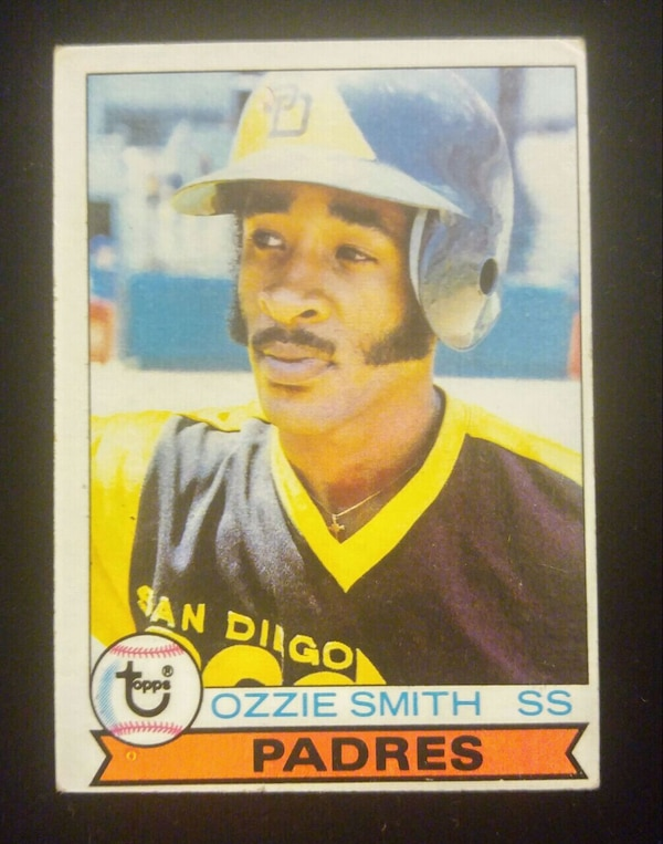 1979 Topps 116 Ozzie Smith Baseball Rookie Card