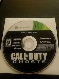 Call of Duty: Ghosts XBOX 360 Game 1360 mi