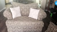 Gray and white oversized sofa chair Kitchener, N2E 2P9