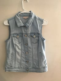 Gray denim vest 53 km