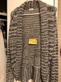 gray and black knitted cardigan Sherwood Park, T8H