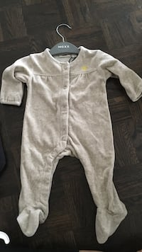 baby's velvet cozy sleeper: brand new with tags still on 3-6 months Vaughan, L4L 7E4